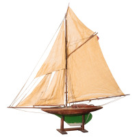 English Pond Yacht, circa 1920