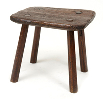 Garden Court Antiques Small Four Legged Stool