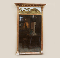 Garden Court Antiques Trumeau Mirror