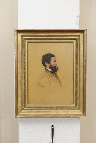 Portrait of a Man by Jacques Leman, 19th Century