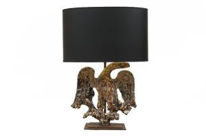 Cast Iron Eagle,Cast Iron Eagle mounted as a lamp, 19th Century English now mounted as a lamp, 19th Century English