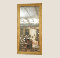 Garden Court Antiques Tall Fluted Mirror