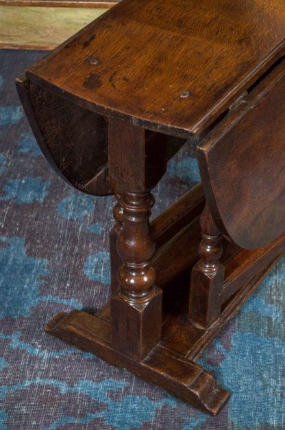 Diminutive English Oak Gateleg Table, circa 1750