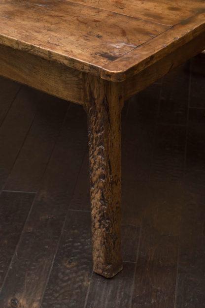 English Fruitwood Farm Table, circa 1840