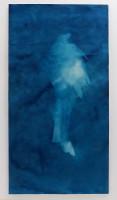 Ann Holsberry: Towards the Seas 1, 2014, Cyano 72 in. x 38 in.