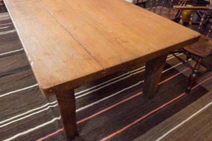 Very Large-Scale Farm House Table, English, circa 1840 at Garden Court Antiques