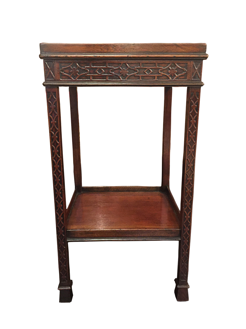 Delicieux Antique Carved Mahogany Chippendale Style Side Table Circa 1820 At Garden  Court Antiques