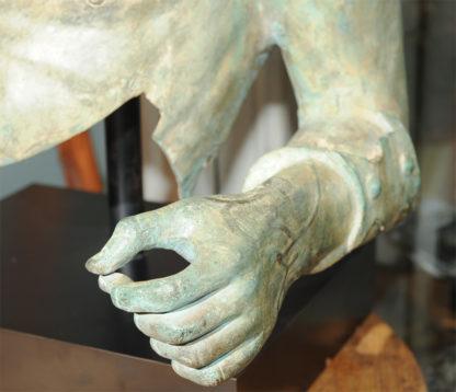 Garden Court, San Francisco antiques: A very large scale cast bronze Grecian torso