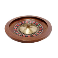 antique small roulette wheel c 1930