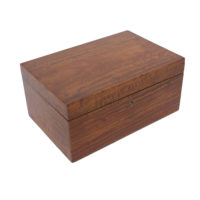 A Fine Satinwood Box with Tray, English, Mid 19th Century. Garden Court Antiques