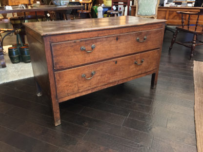 Garden Court Antiques, San Francisco - A handsome English walnut chest of drawers, circa 1770