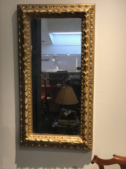 Garden Court Antiques, San Francisco Very Small Scale French Giltwood Mirror, Circa 1900