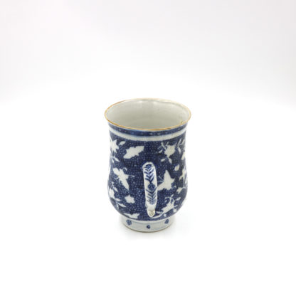 Garden Court Antiques, San Francisco An English Victorian Blue and White Cider Mug, circa 1880