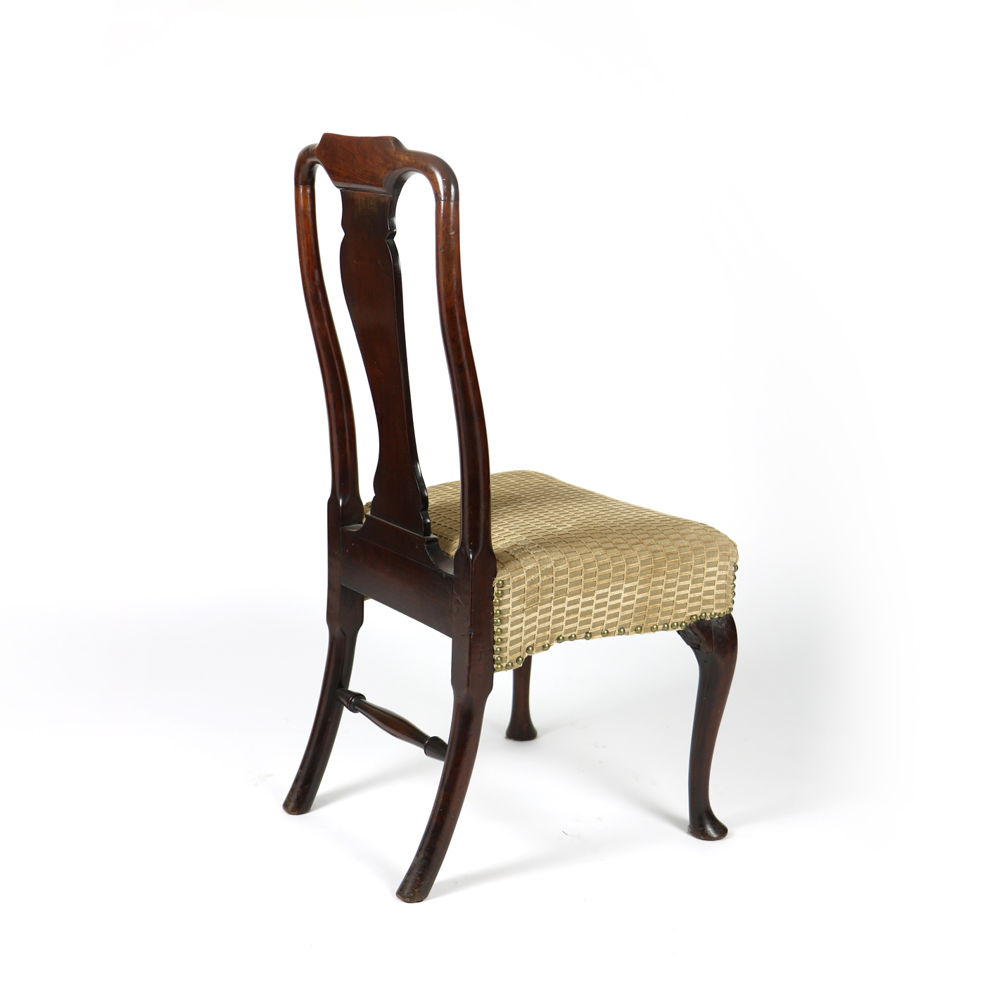 18th Century Walnut Dining Chair with Queen Anne Legs English