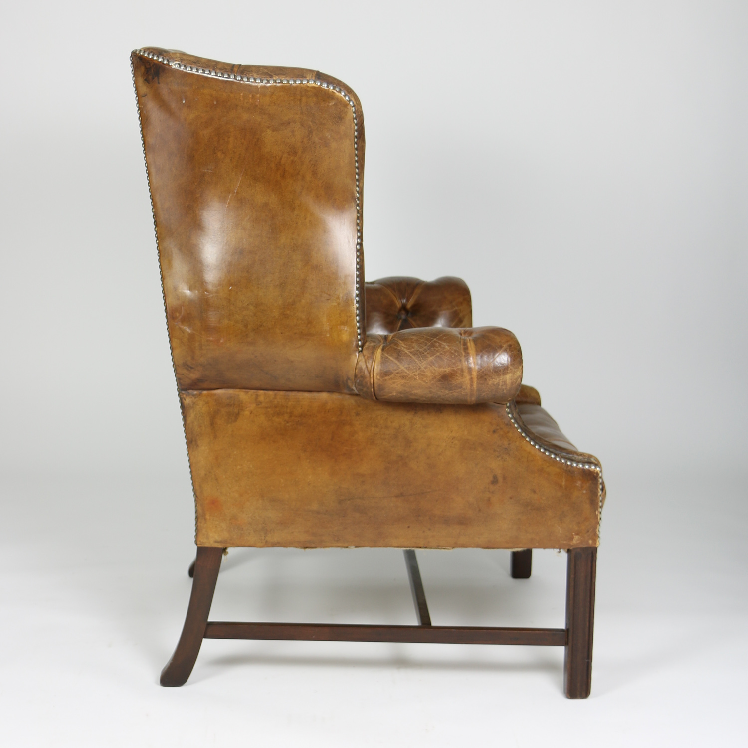 Leather Wing Chairs Instachair