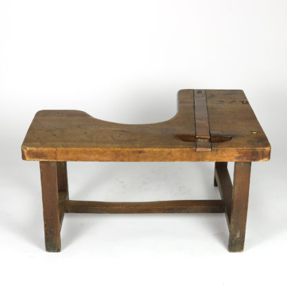 Garden Court Antiques, San Francisco -A Charming French Walnut Cobbler's Bench Circa 1890