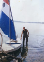 Jim Gallagher, 1993, Lake Champlain Sunfish Sailing