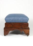 Garden Court Antiques, San Francisco -Regency Period Mahogany Bench, American, Boston, Circa 1820
