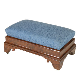 Garden Court Antiques, San Francisco -Regency Period Mahogany Bench, American, Boston, Circa 1820