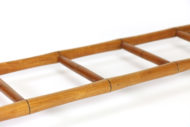 Garden Court Antiques, San Francisco -English Victorian Period Faux Bamboo Ladder Circa 1890