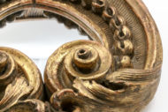 Garden Court Antiques, Exquisitely Carved French Architectural Element Circa 1800, Mounted As A Mirror