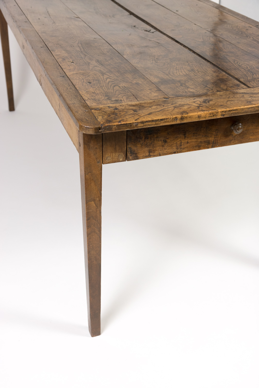 Charmant Garden Court Antiques, San Francisco   Very Rare Elm Farm Table With  Incredible Patina U0026