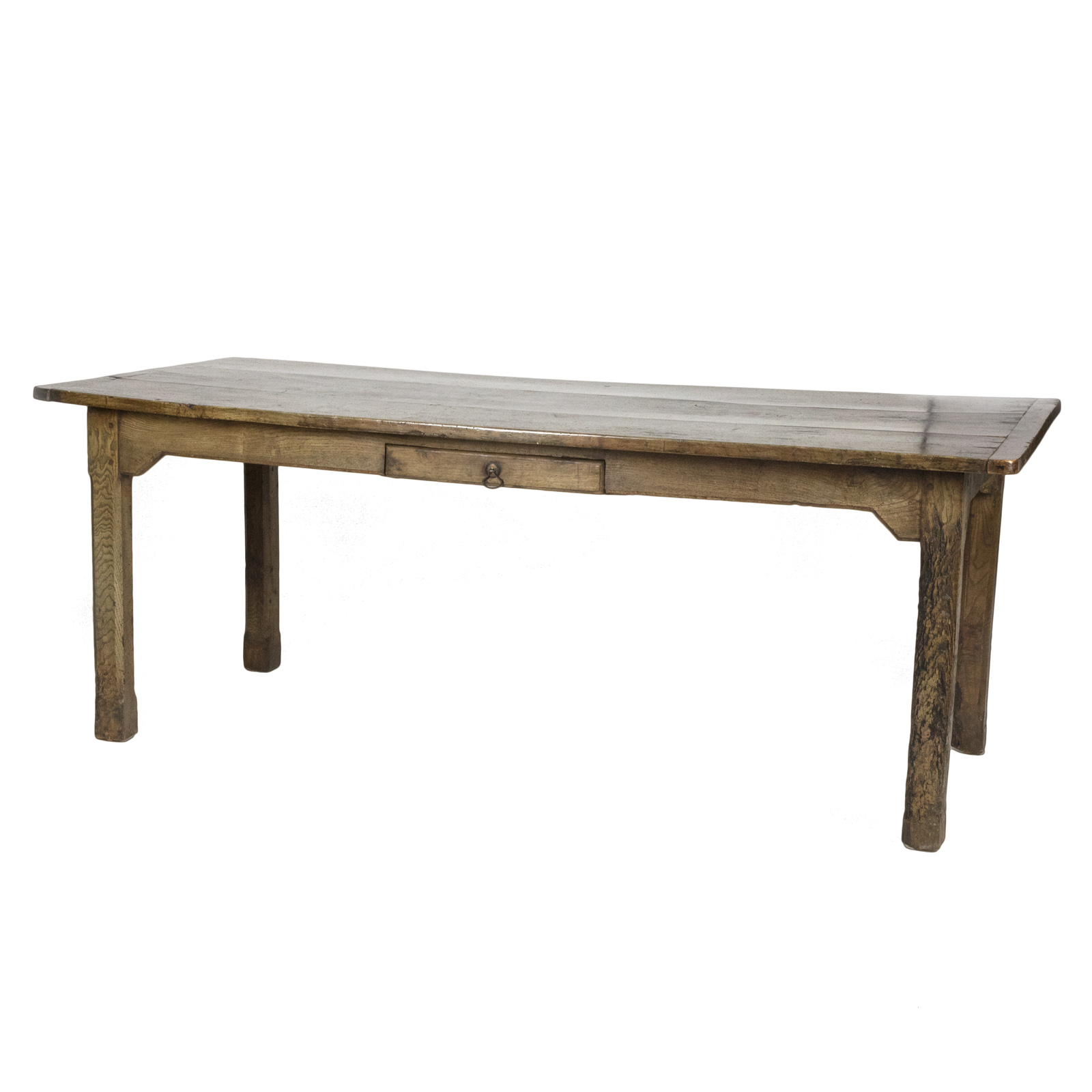 Authentic english country farm table 19th century 415 for England table