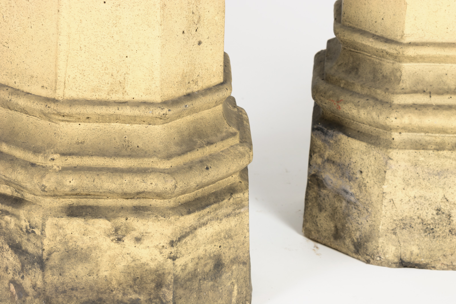English Vintage Chimney Pots 19th Century 415 355-1690