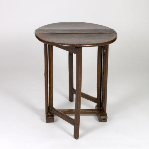 Vintage Oak Drop Leaf Table 19th C. English - Garden Court Antiques
