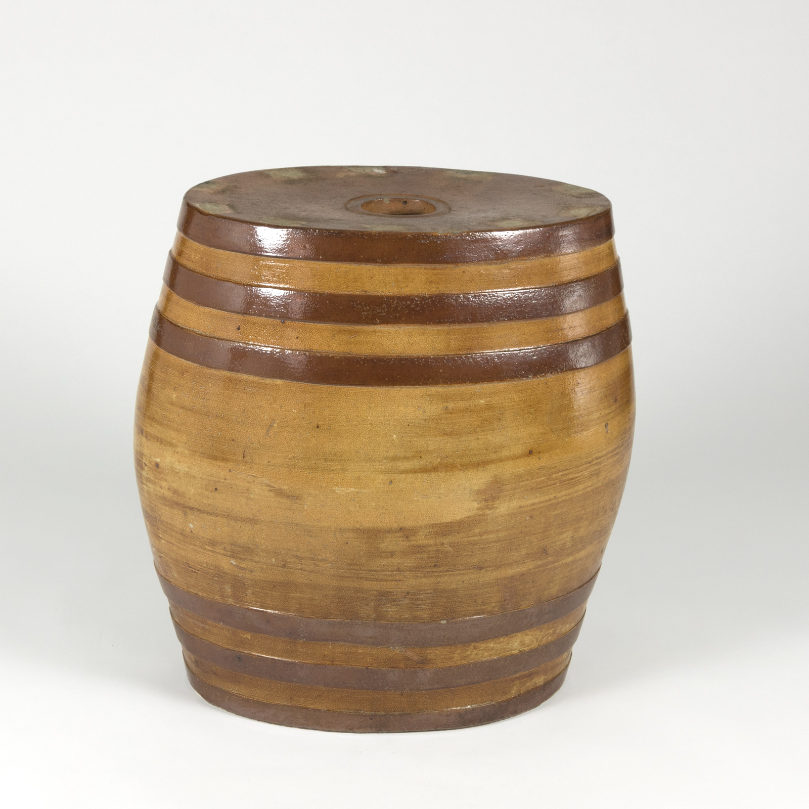 Large Treacle Salt Glaze Spirit Barrel, Doulton, Lambeth (415) 355-1690