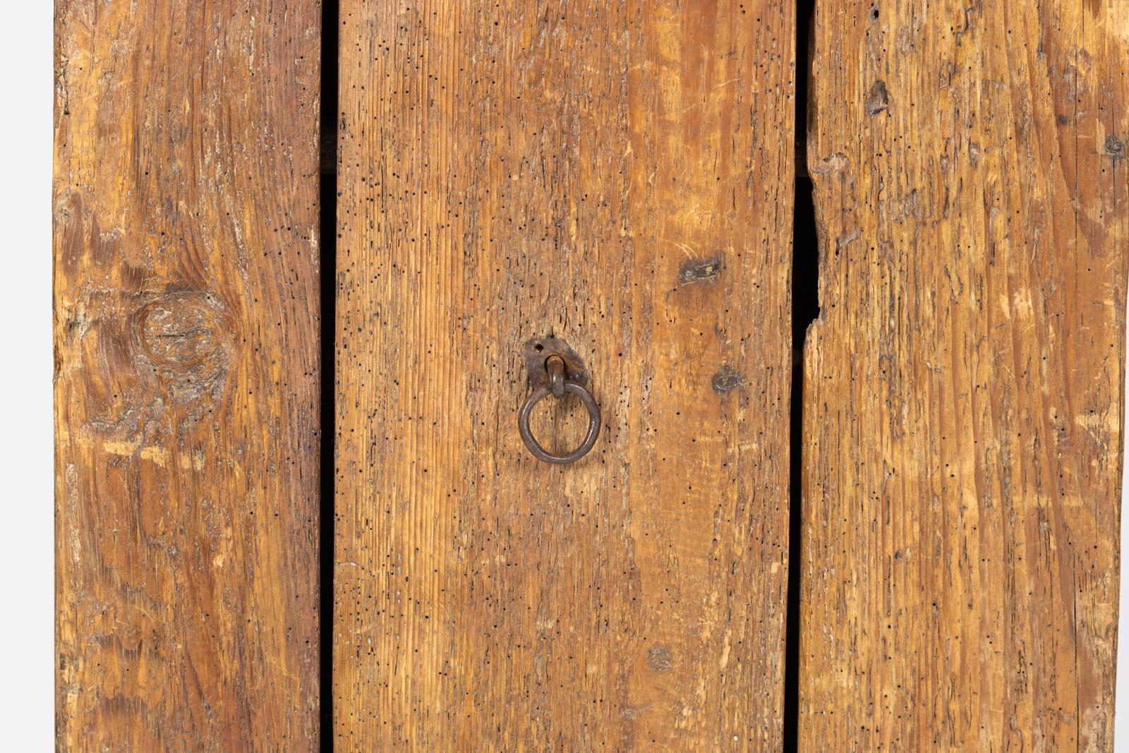 Humble Rustic Vintage Single Door Cabinet 1700s 415 355 1690