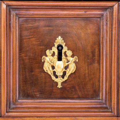 Italian Walnut Commode, Likely Lomardy, Circa 1750.