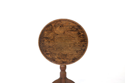Late 18th Century Oak Tilt-Top Tripod Table, English Circa 1780.