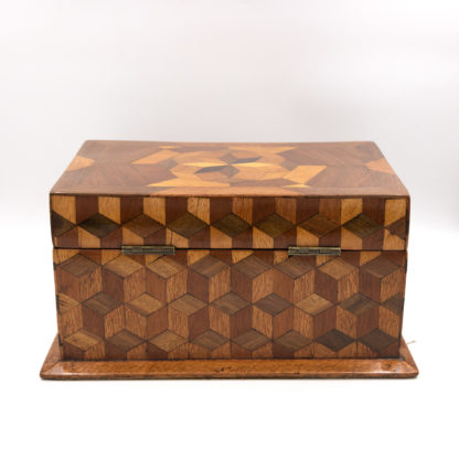 Large Cube Shaped Box With