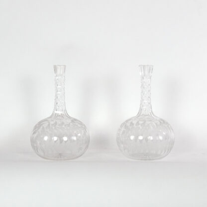 Two Crystal Decanters Victorian Era; English, Circa 1850