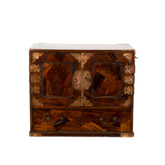 Small Japanese Tansu Table Cabinet, Circa 1900
