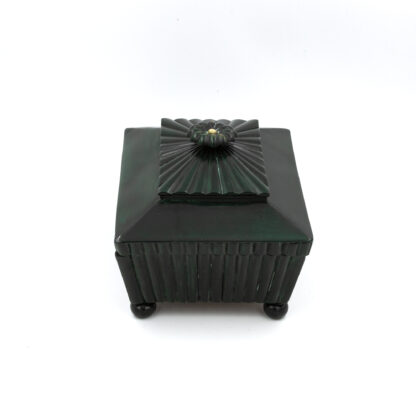 Very Rare Green Horn Anglo Indian Sewing Box With Fitted Interior; Anglo-Indian Circa 1830-50.