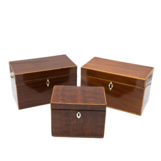 Georgian Boxes, Late 18th Century.