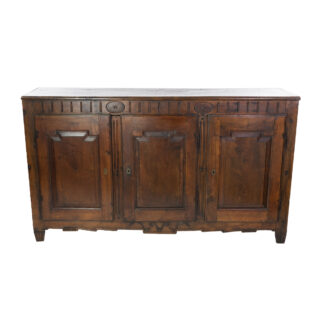 Rustic Italian Three-Door Buffet, Circa 1800.