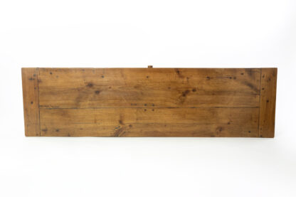 Plank top of a 19th Century Long and Narrow French Fruitwood Server With A Single Drawer, Circa 1850.
