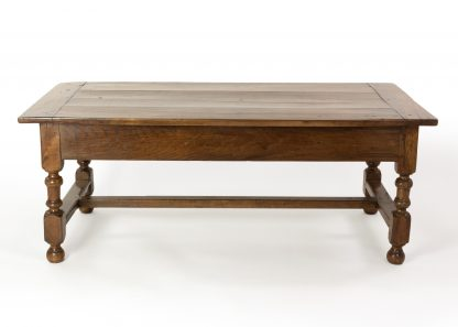 French Walnut Low Table With Single Drawer, Circa 1850.
