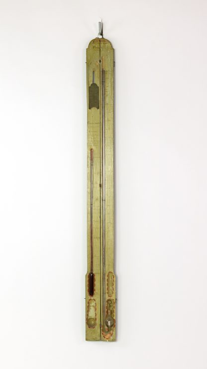 Louis XVI Portable Barometer Thermometer, French, late 18th Century